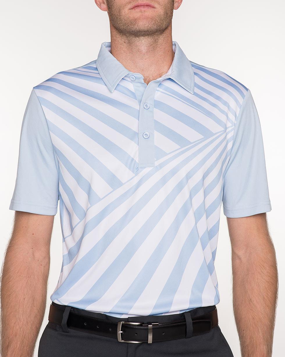 Vintage Blue Dazzle Flauge Shirt