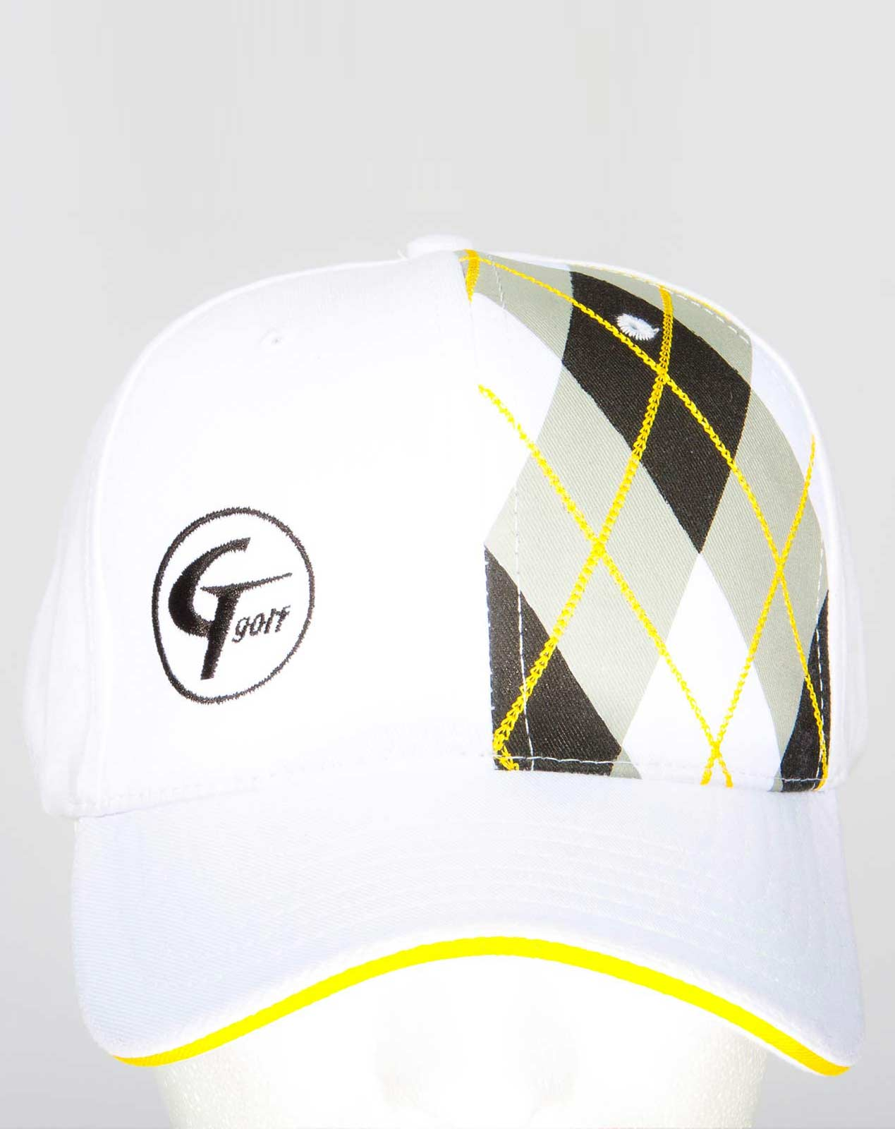 White Adjustable Hat - CutThroat Golf a45fae8ea32